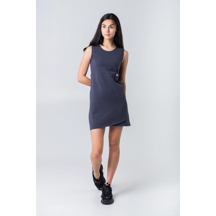 ангола – платье с юбкой на запах