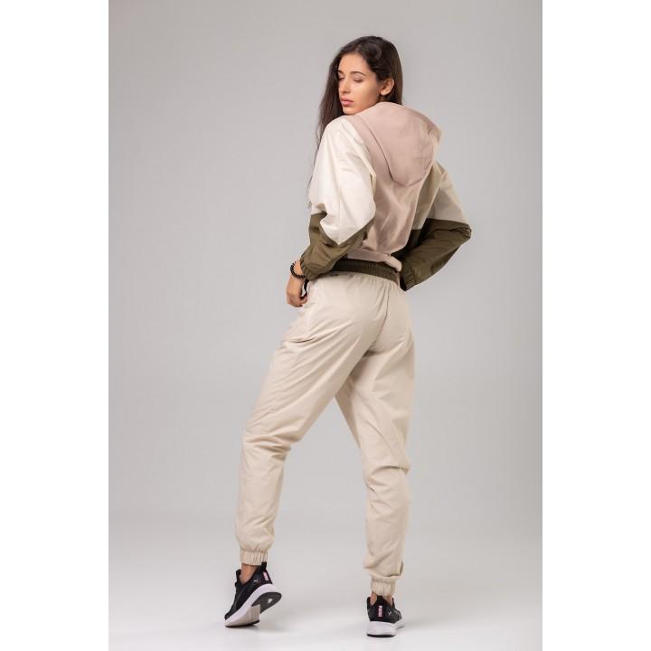 Гурон - молочные брюки из плащевой ткани
