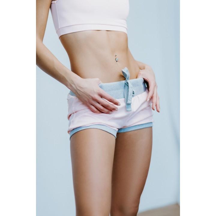 креф – женские спортивные шорты с манжетами