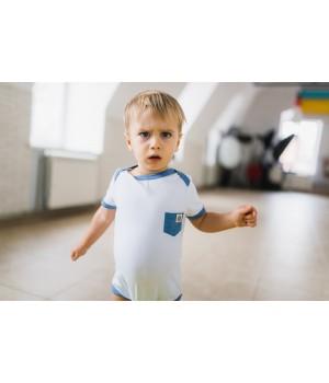 бизе - боди детский с коротким рукавом