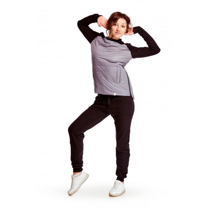 лейпциг-лозанна – женский спортивный костюм с элементом плащевки