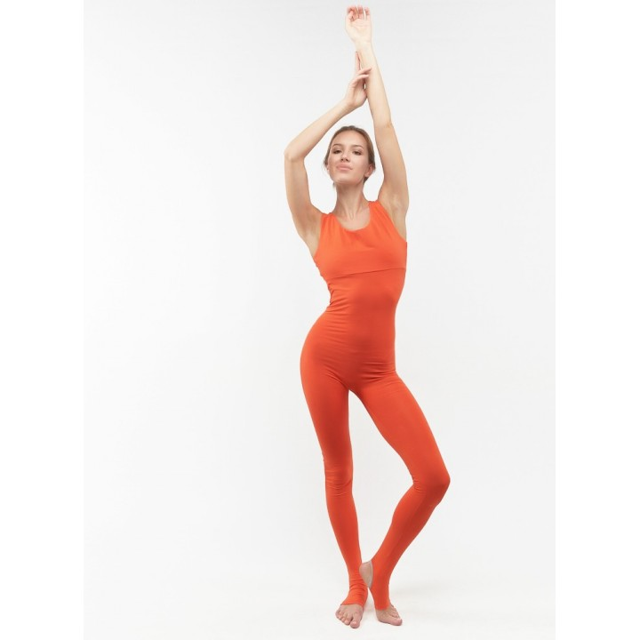 самарканд – женский комбинезон для йоги с пяточкой