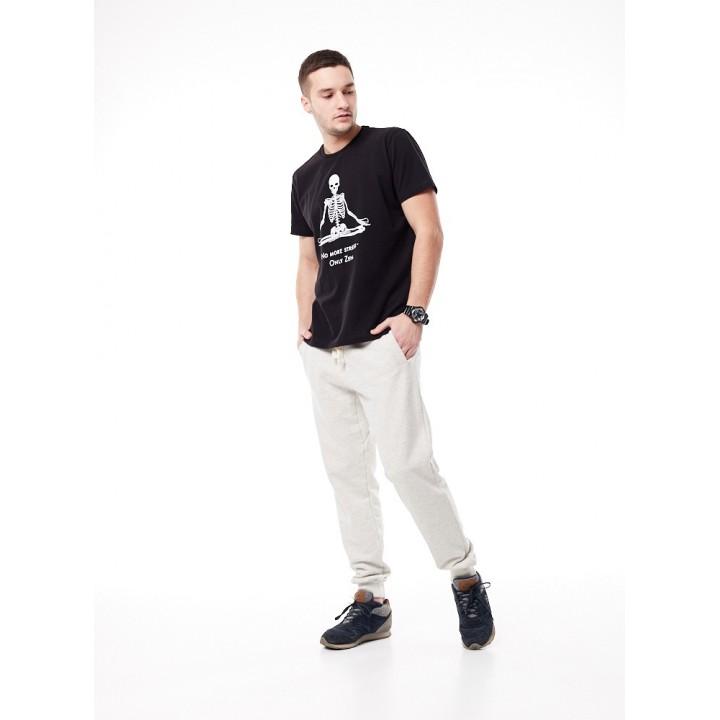 Кабул- черная мужская футболка с принтом