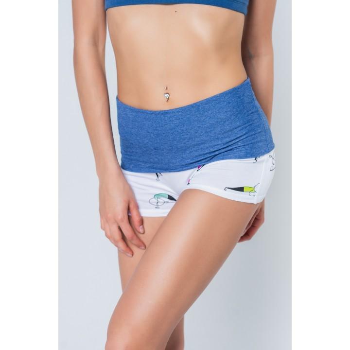 бремен - женские шорты с отворотом зенйожики
