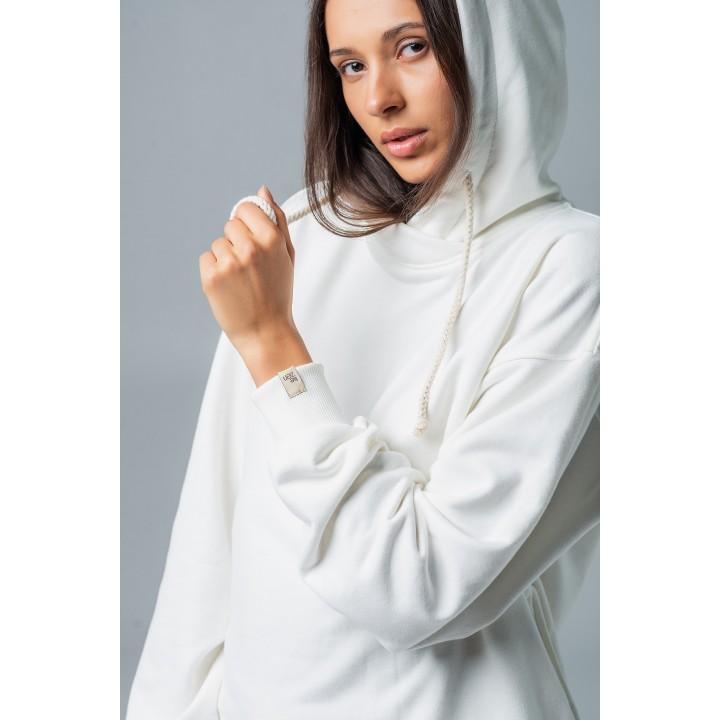 White Hoodie Merano