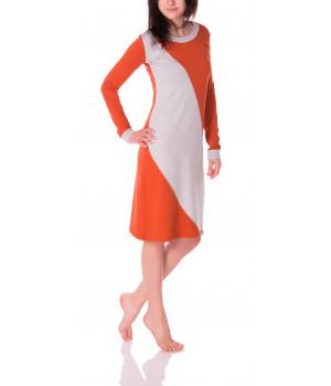 барселона - платье оранжевого цвета