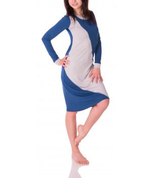 барселона - платье цвета индиго